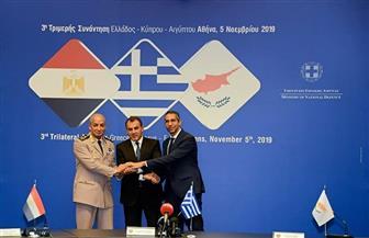 وزراء دفاع مصر وقبرص واليونان يدينون أعمال التنقيب التركية في المنطقة القبرصية