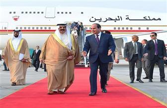 الرئيس السيسي يستقبل العاهل البحريني حمد بن عيسى | صور