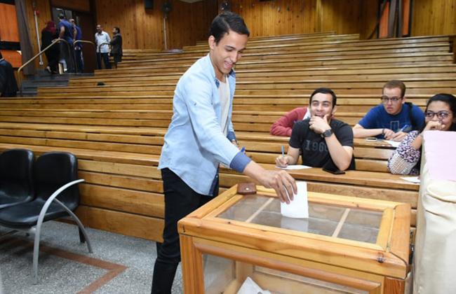 جامعة القاهرة تسدل الستار على الانتخابات الطلابية -
