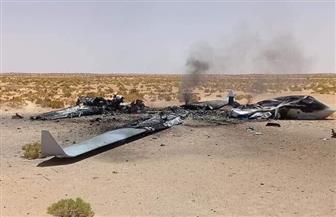 الجيش اليمني يسقط طائرة حوثية مسيرة غرب تعز