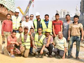 الرئيس السيسي يوجه بإنجاز مشروعات الطرق بمصر الجديدة وفق أعلى معايير الجودة |صور