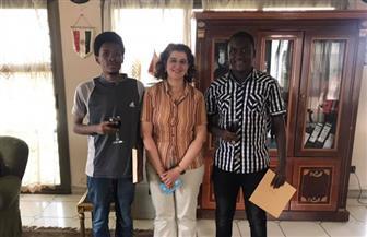 سفيرة مصر في بوجمبورا تستقبل الحاصلين على منحة دراسة الطب البشري بجامعة عين شمس