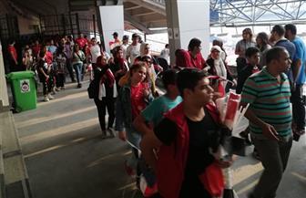 الجماهير المصرية تتوافد على ستاد القاهرة لمؤازرة المنتخب الأوليمبي| صور