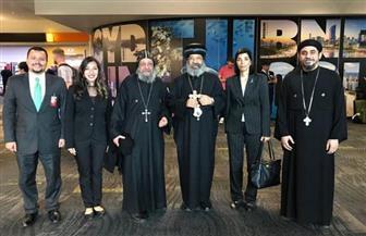 زيارة الأنبا رافائيل أسقف كنائس وسط القاهرة إلى نيوزيلندا