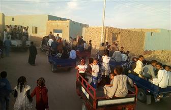 انطلاق مسيرات بشوارع أسوان احتفالا بالمولد النبوي الشريف |صور