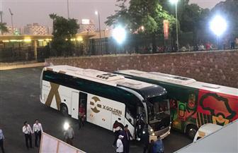 وصول منتخب مالي الأوليمبي لإستاد القاهرة استعدادا لمواجهة الفراعنة