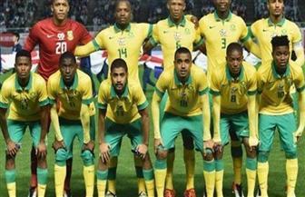 منتخب جنوب إفريقيا الأوليمبي يتفقد ملعب السلام