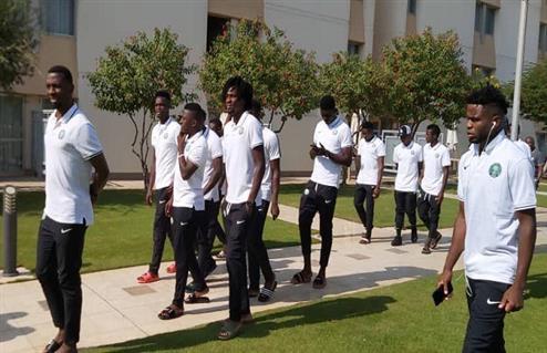 فترة راحة للاعبي نيجيريا قبل مواجهة كوت ديفوار