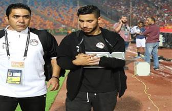 ناصر ماهر يخضع لأشعة على «الكتف» بعد إصابته أمام مالي
