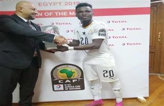 كأس الأمم الإفريقية.. إيفانز منساه أفضل لاعب في مباراة غانا والكاميرون