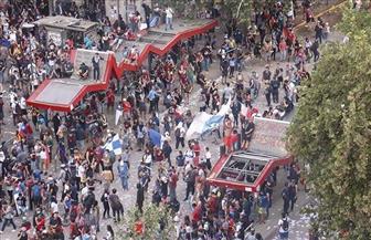 إحراق جامعة ونهب كنيسة في تظاهرات تشيلي