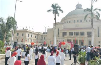 جامعة القاهرة تحتفل باليوم الثقافي الصيني بالحرم الجامعي| صور