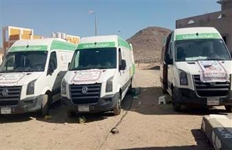صحة مطروح: الكشف على 286 مريضا في قافلة طبية مجانية لأهالي واحة سيوة