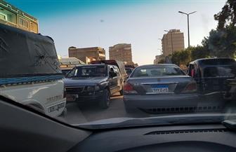 شلل في حركة المرور بنفق الجزيرة بكفرالزيات |صور