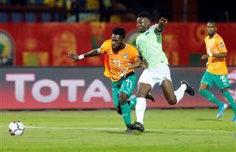 مباراة نيجيريا وكوت ديفوار تشهد أول حالة طرد بأمم إفريقيا تحت 23 عاما