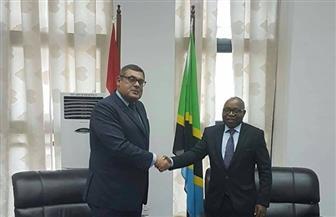 نائب وزير خارجية تنزانيا يستقبل مساعد وزير الخارجية للشئون الإفريقية | صور