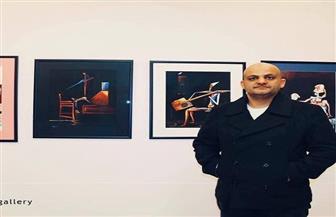 الفنان المصري هيثم سعيد يحصل على جائزة ليوناردو دافنشي من إيطاليا|صور