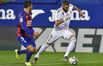 ريال مدريد يستعيد صدارة الدوري الإسباني برباعية وكريم بنزيمة يتجاوز بوشكاش