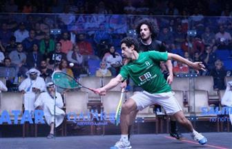 طارق مؤمن يتأهل لدور الـ ١٦ من بطولة العالم للإسكواش