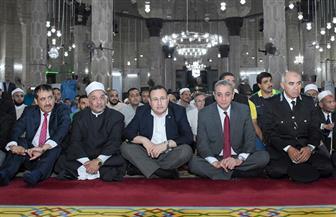 محافظ الإسكندرية يشهد احتفالية المولد النبوي الشريف بمسجد المرسى أبو العباس| صور