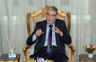 محافظ المنيا يتابع مع وفد مجلس الوزراء موقف المشروعات القومية