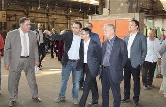 """وفد من """"دونج فينج"""" الصينية يزور شركتي النصر والهندسية للسيارات"""