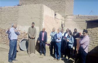 إعادة إعمار 120 منزلا كامل التشطيب بقرية الغريرة جنوب الأقصر | صور