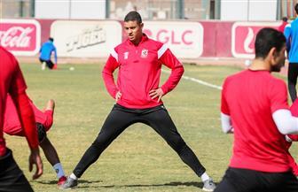 سعد سمير يشارك في تدريبات الأهلي بعد شفائه من البرد