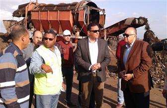 محافظ الدقهلية يتفقد مصنع تدوير القمامة بقلابش.. ويؤكد: لجنة لمتابعة المعدات وصيانتها
