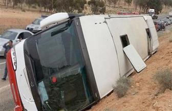 الداخلية التونسية: 22 قتيلا و21 جريحا في انقلاب حافلة سياحية غرب البلاد
