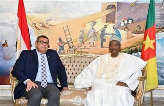 مساعد وزير الخارجية للشئون الإفريقية يزور الكاميرون لبحث سبل دفع العلاقات الثنائية | صور