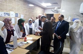 محافظ كفرالشيخ يتفقد مستشفى قلين والوحدة الصحية بدفرية | صور