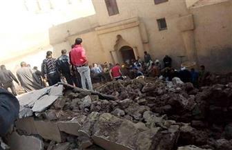محافظ المنيا يتابع حالة مصابي حادث كنيسة دير أبو فانا بملوي