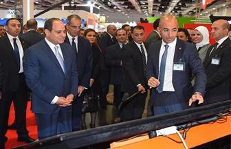 الرئيس السيسي: مصر على استعداد للتعاون مع القطاع الخاص لإطلاق منصة رقمية تجارية في القارة الإفريقية