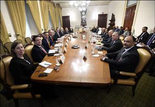وزراء خارجية مصر وإثيوبيا والسودان يتناولون وجهات النظر حول سد النهضة