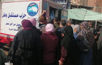منافذ لبيع اللحوم بأسعار مخفضة في قرى السنطة بالغربية | صور