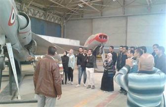 انطلاق الفوج الحادي عشر من شباب جامعة قناة السويس لزيارة مصنع الطائرات | صور