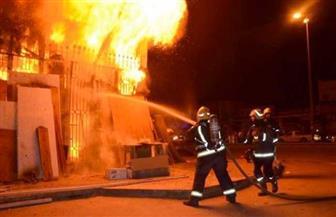 مصدر أمني يكشف سبب حريق جراج في المعادي