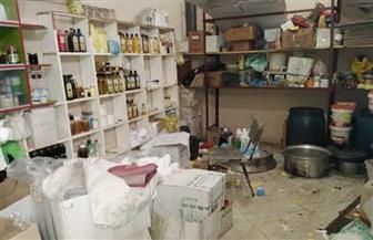 ضبط مصنع لمستحضرات التجميل بدون ترخيص في كفرالشيخ | صور