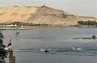 تأمين المجرى الملاحي لنهر النيل قبل ساعات من انعقاد منتدى السلام| صور