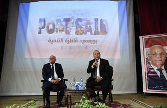 محافظ بورسعيد يوجه طلبة الخدمة الاجتماعية بتوعية الشباب لمواجهة حروب الجيل الرابع | صور