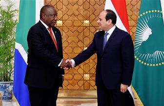 رئيس جنوب إفريقيا: نسعى لتحقيق حلم إقامة خط سكة حديد بين مصر وكيب تاون