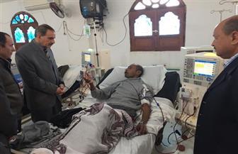محافظ كفرالشيخ يزور عددا من المنشآت الطبية والتعليمية بمركز بيلا | صور