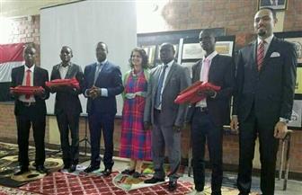 السفارة المصرية في بوروندي تحتفل بمرور 56 عاما على العلاقات المصرية البوروندية واليوم العالمي للغة العربية|صور