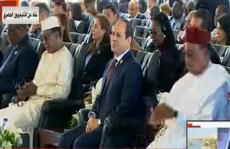"""الرئيس السيسي يشهد جلسة """"إفريقيا التي نريدها"""" ضمن فعاليات منتدى أسوان للسلام والتنمية"""