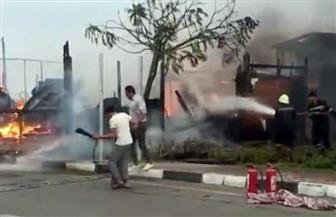 السيطرة على حريق في فرع الأهلي بالشيخ زايد