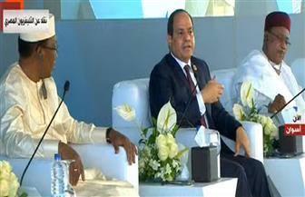الرئيس السيسي بمنتدى أسوان: لا مستقبل في إفريقيا إلا بإقامة بنية أساسية متطورة