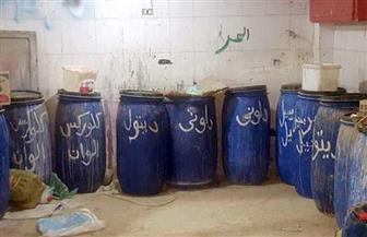 مصادرة 7 أطنان منظفات صناعية مغشوشة في الغربية