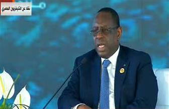 رئيس السنغال: علينا مواجهة الإرهاب والتغير المناخي بكل طاقتنا