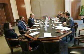 مساعد وزير الخارجية للشئون الأوروبية يلتقي رئيس الوحدة المشتركة لشمال إفريقيا بوزارة الخارجية البريطانية